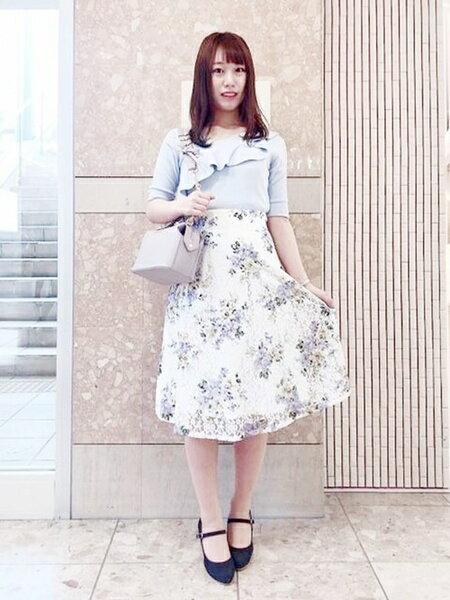 夏のデート服は爽やかフェミニンなMISCH MASCHのコーデで♡