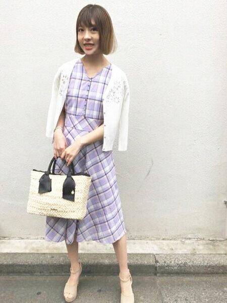 爽やか清楚な夏のモテコーデ♡MISCH MASCHのワンピース!