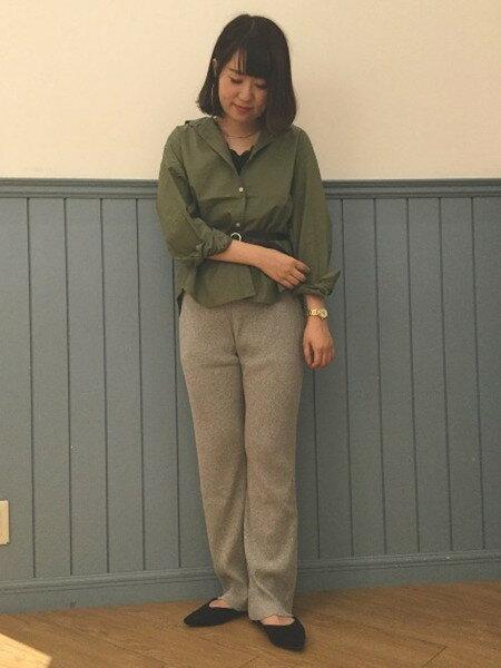 LOWRYS FARMのカットリブパンツ/Mを使ったコーディネートを紹介します。|Rakuten Fashion(楽天ファッション/旧楽天ブランドアベニュー)25638