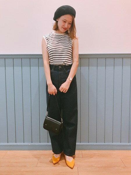 LOWRYS FARMのCONEストレートワイド/Bを使ったコーディネートを紹介します。|Rakuten Fashion(楽天ファッション/旧楽天ブランドアベニュー)25645