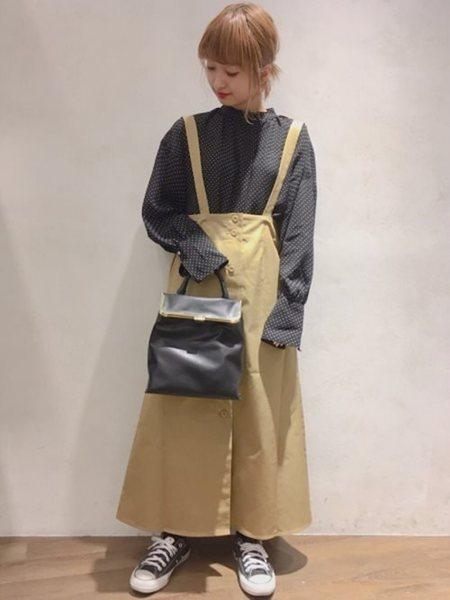 JEANASiSさんのスカートその他「ゼンゴ2WAYチノSK」を使ったコーディネートを紹介します。|ファッション通販楽天ブランドアベニュー(旧スタイライフ Stylife)16397