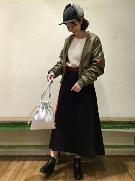 niko and ...さんのUネックカットソー「(W)コットンワッフルPO」を使ったコーディネートを紹介します。|ファッション通販楽天ブランドアベニュー(旧スタイライフ Stylife)14614