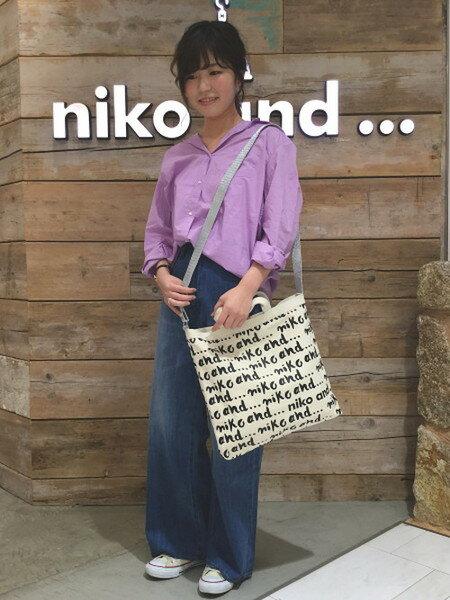 niko and ...さんの長袖シャツ「(W)マーセベーシックレギュSH」を使ったコーディネートを紹介します。|ファッション通販楽天ブランドアベニュー(旧スタイライフ Stylife)17635