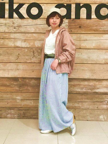 niko and ...さんの長袖シャツ「(W)ウエストビックリボンV/BL」を使ったコーディネートを紹介します。|ファッション通販楽天ブランドアベニュー(旧スタイライフ Stylife)18899