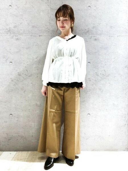 LEPSIMさんの長袖シャツ「ウエストスピンドルBL7S」を使ったコーディネートを紹介します。|ファッション通販楽天ブランドアベニュー(旧スタイライフ Stylife)20004