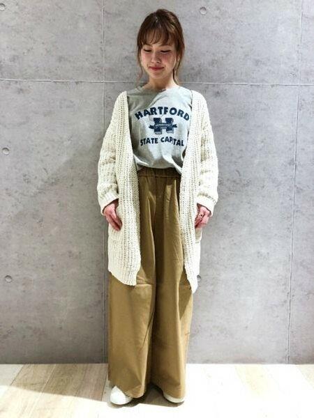 LEPSIMさんのUネックカットソー「アソートPOINTロンT/LS」を使ったコーディネートを紹介します。|ファッション通販楽天ブランドアベニュー(旧スタイライフ Stylife)20006
