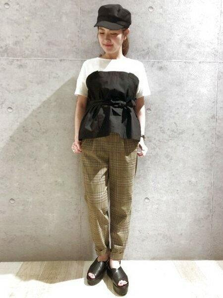 LEPSIMのTRPU/チェックタックPを使ったコーディネートを紹介します。|Rakuten Fashion(楽天ファッション/旧楽天ブランドアベニュー)25855