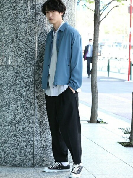 JUNRedさんのシャツ/ブラウスその他「ルーズネックストライプシャツ」を使ったコーディネートを紹介します。|ファッション通販楽天ブランドアベニュー(旧スタイライフ Stylife)20974