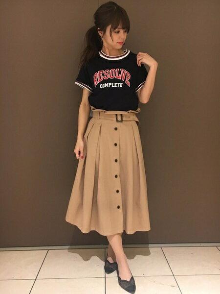 INGNIさんのTシャツ「C・リンガーTシャツ」を使ったコーディネートを紹介します。|ファッション通販楽天ブランドアベニュー(旧スタイライフ Stylife)21839