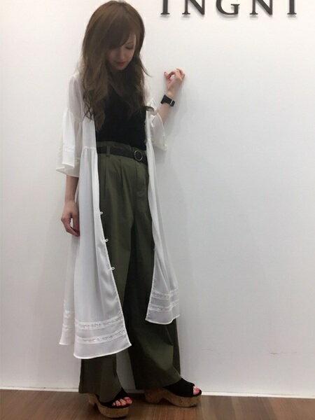 INGNIのコーディネートを紹介します。|Rakuten Fashion(楽天ファッション/旧楽天ブランドアベニュー)22711