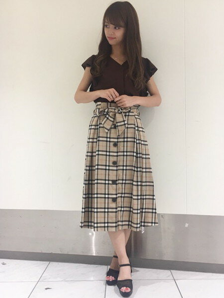 INGNIのコーディネートを紹介します。|Rakuten Fashion(楽天ファッション/旧楽天ブランドアベニュー)24271