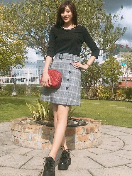 INGNIさんのドレスシューズ「厚底レースUPシューズ」を使ったコーディネートを紹介します。 ファッション通販楽天ブランドアベニュー(旧スタイライフ Stylife)26039