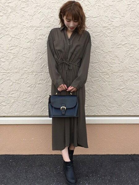 INGNIさんのシャツ/ブラウスその他「ドロストロングシャツ/ワンピース」を使ったコーディネートを紹介します。|ファッション通販楽天ブランドアベニュー(旧スタイライフ Stylife)26049
