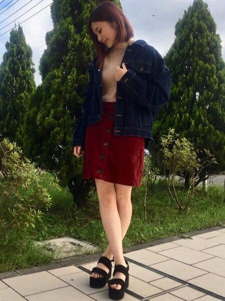 INGNIさんのデニムジャケット「BIG Gジャン」を使ったコーディネートを紹介します。|ファッション通販楽天ブランドアベニュー(旧スタイライフ Stylife)26060