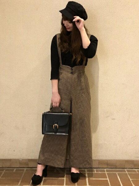 INGNIさんのハンドバッグ「【11/1ヒルナンデスご紹介商品】前ベルト2WAYバッグ/A」を使ったコーディネートを紹介します。 ファッション通販楽天ブランドアベニュー(旧スタイライフ Stylife)26992