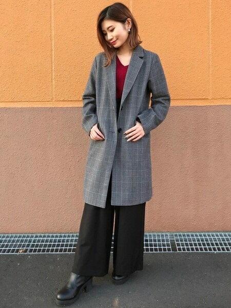 INGNIさんのスウェットパンツ「サス付・ハイウエスト/パンツ」を使ったコーディネートを紹介します。|ファッション通販楽天ブランドアベニュー(旧スタイライフ Stylife)27704