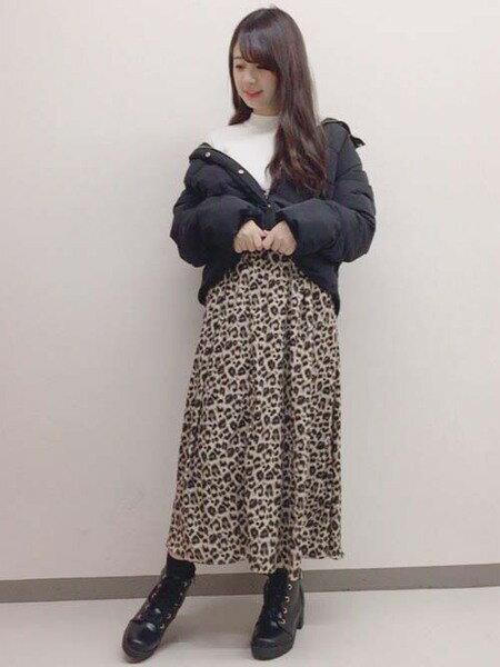 INGNIさんの長袖ニット「12Gボリューム袖つまり衿ニット」を使ったコーディネートを紹介します。|ファッション通販楽天ブランドアベニュー(旧スタイライフ Stylife)29269