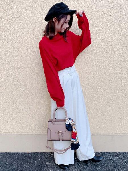 INGNIさんのハンドバッグ「ベルト付フラップバッグ」を使ったコーディネートを紹介します。 ファッション通販楽天ブランドアベニュー(旧スタイライフ Stylife)30176