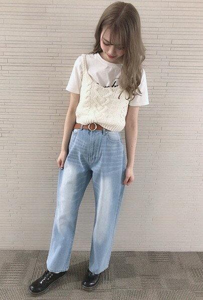 INGNIさんのベルト「リングバックルベルト」を使ったコーディネートを紹介します。|ファッション通販楽天ブランドアベニュー(旧スタイライフ Stylife)33453