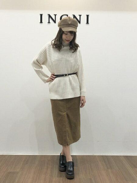 INGNIのコーディネートを紹介します。|Rakuten Fashion(楽天ファッション/旧楽天ブランドアベニュー)42708