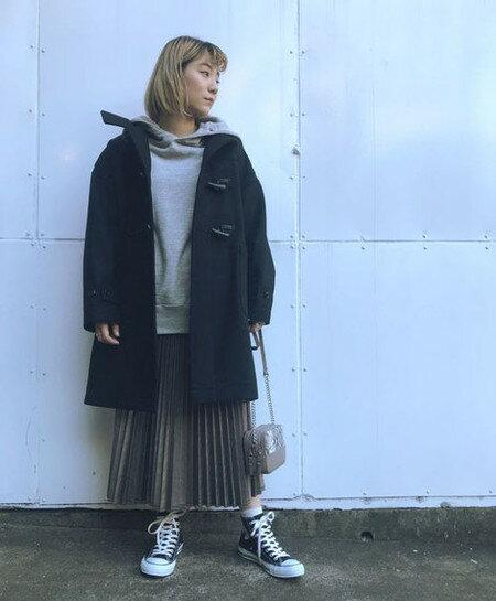 ROSE BUDさんのスカートその他「合皮プリーツスカート」を使ったコーディネートを紹介します。|ファッション通販楽天ブランドアベニュー(旧スタイライフ Stylife)27872