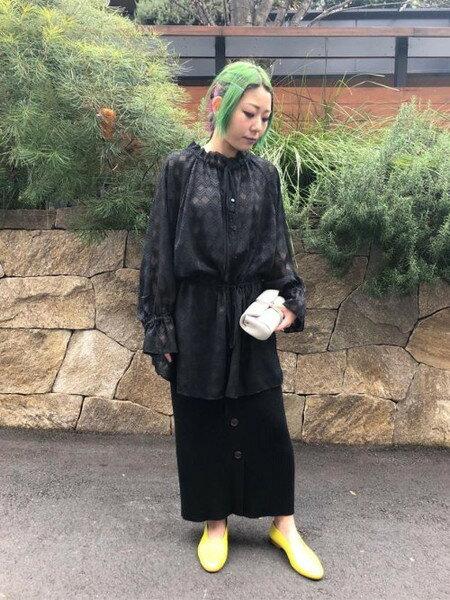 ROSE BUDの透けジャカードチュニックを使ったコーディネートを紹介します。|Rakuten Fashion(楽天ファッション/旧楽天ブランドアベニュー)31756