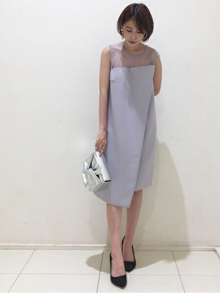 LagunaMoonさんのワンピースその他「LADY カッティングBOXドレス」を使ったコーディネートを紹介します。|ファッション通販楽天ブランドアベニュー(旧スタイライフ Stylife)22934
