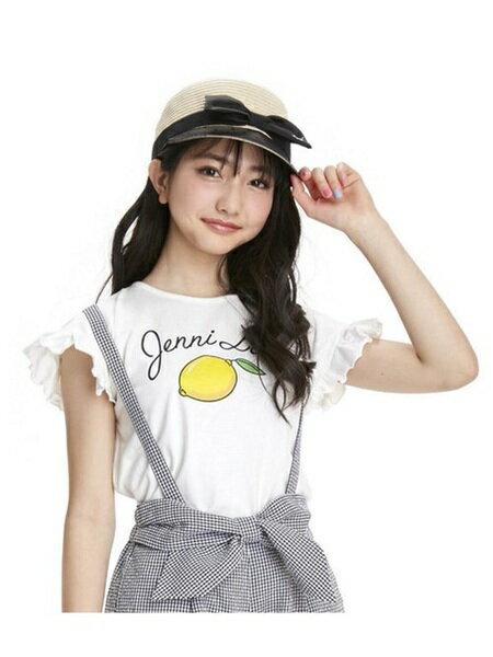 JENNIさんのキッズカットソー「JENNI love/レモンモチーフTシャツ」を使ったコーディネートを紹介します。|ファッション通販楽天ブランドアベニュー(旧スタイライフ Stylife)22417