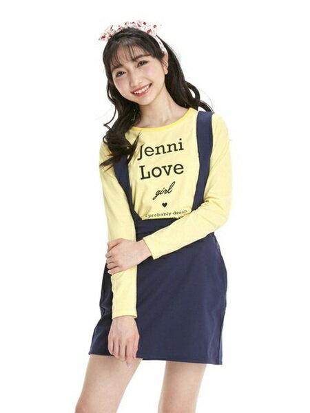 JENNIさんのキッズカットソー「ロンT&ジャンスカセット」を使ったコーディネートを紹介します。 ファッション通販楽天ブランドアベニュー(旧スタイライフ Stylife)22516