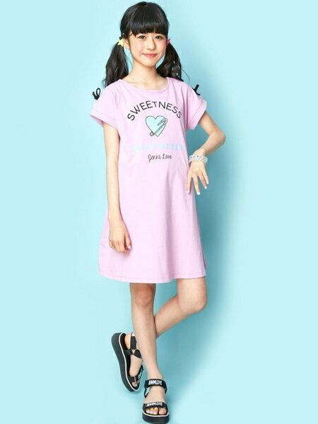 JENNIさんのキッズワンピース「JENNI love/肩リボンTシャツワンピ」を使ったコーディネートを紹介します。|ファッション通販楽天ブランドアベニュー(旧スタイライフ Stylife)23973