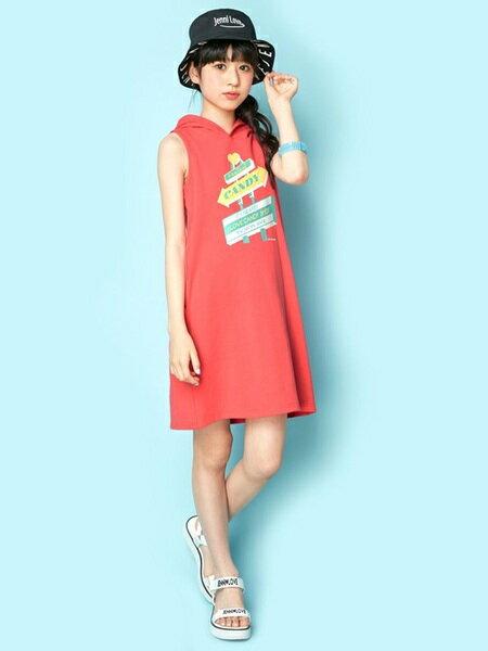 JENNIさんのキッズカットソー「JENNI love/ノースリパーカーワンピ」を使ったコーディネートを紹介します。|ファッション通販楽天ブランドアベニュー(旧スタイライフ Stylife)23981