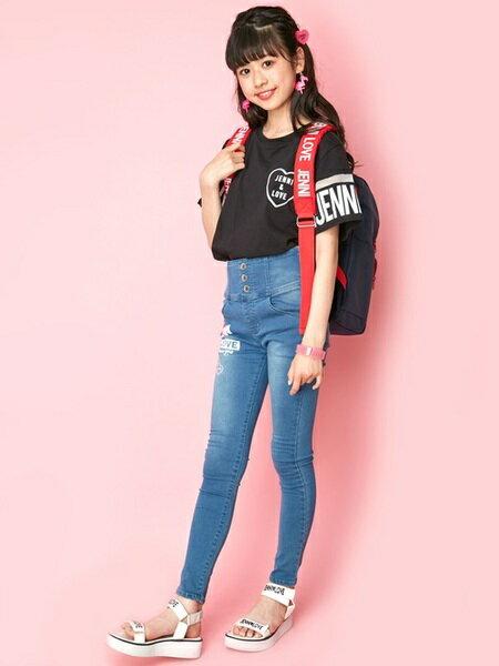 JENNIさんのキッズバッグ「JENNI love/トラベルリュック」を使ったコーディネートを紹介します。|ファッション通販楽天ブランドアベニュー(旧スタイライフ Stylife)24958