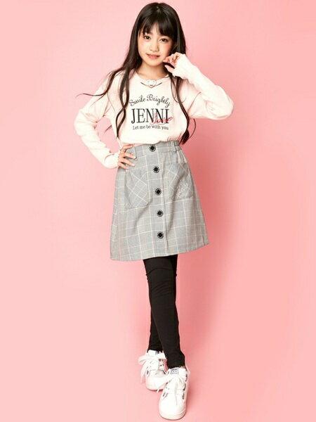 JENNIさんのキッズパンツ「JENNI love/ラインストーンレギンス」を使ったコーディネートを紹介します。|ファッション通販楽天ブランドアベニュー(旧スタイライフ Stylife)26806