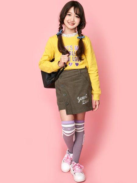 JENNIさんのキッズバッグ「JENNI love/パスケース付きリュック」を使ったコーディネートを紹介します。|ファッション通販楽天ブランドアベニュー(旧スタイライフ Stylife)27784