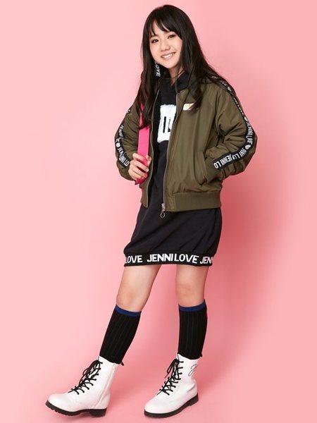 JENNIさんのキッズワンピース「JENNI love/ボア切替パーカーワンピ」を使ったコーディネートを紹介します。|ファッション通販楽天ブランドアベニュー(旧スタイライフ Stylife)27792
