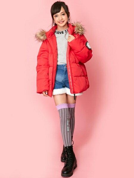JENNIさんのキッズカットソー「JENNI love/ロゴ総柄裏起毛トレーナー」を使ったコーディネートを紹介します。|ファッション通販楽天ブランドアベニュー(旧スタイライフ Stylife)28553