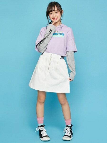 JENNIさんのキッズスカート「JENNI love/ウエストロゴスカート」を使ったコーディネートを紹介します。 ファッション通販楽天ブランドアベニュー(旧スタイライフ Stylife)29717