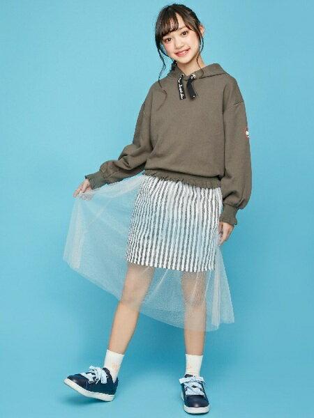 JENNIさんのキッズスカート「JENNI love/レイヤードチュールスカート」を使ったコーディネートを紹介します。|ファッション通販楽天ブランドアベニュー(旧スタイライフ Stylife)30360