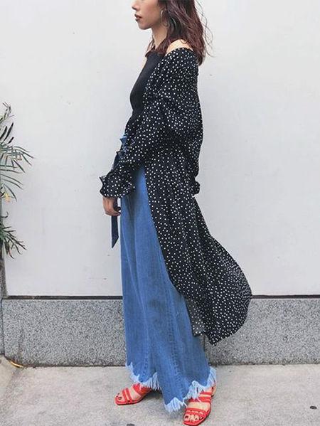 MURUAさんのジーンズその他「CUTstベルトデニム」を使ったコーディネートを紹介します。|ファッション通販楽天ブランドアベニュー(旧スタイライフ Stylife)22997