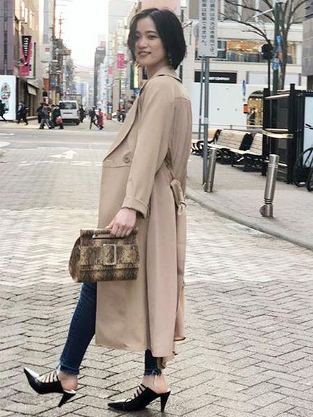 MURUAさんのハンドバッグ「フラップベルトミニBAG」を使ったコーディネートを紹介します。|ファッション通販楽天ブランドアベニュー(旧スタイライフ Stylife)23003