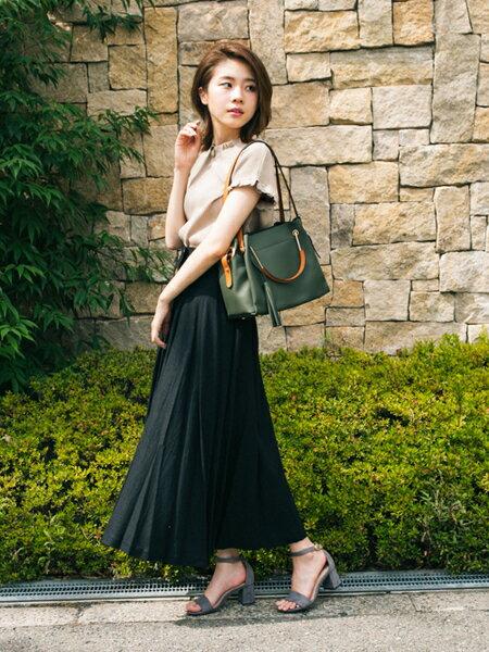 RODE SKOさんのトートバッグ「JOLANDA ワイド4WAYトートバッグ」を使ったコーディネートを紹介します。|ファッション通販楽天ブランドアベニュー(旧スタイライフ Stylife)24872