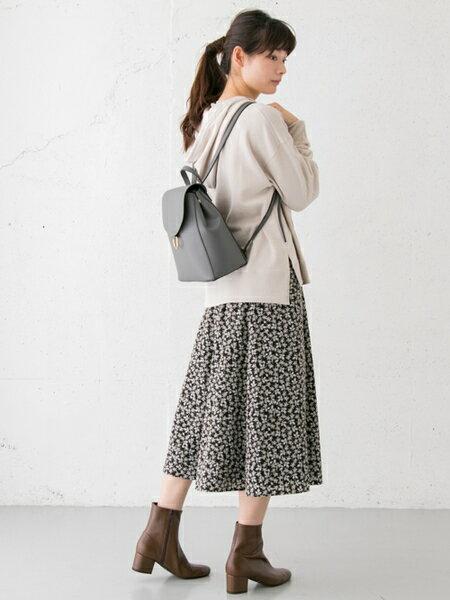 RODE SKOさんのショートブーツ/ブーティー「EMELINA プレーンブーツ」を使ったコーディネートを紹介します。|ファッション通販楽天ブランドアベニュー(旧スタイライフ Stylife)27582