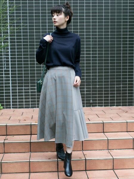 RODE SKOのEMELINA プレーンブーツを使ったコーディネートを紹介します。|Rakuten Fashion(楽天ファッション/旧楽天ブランドアベニュー)28001