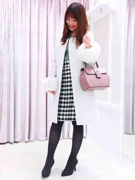 PROPORTION BODY DRESSINGさんのワンピースその他「2Wayチェックジャンパースカート」を使ったコーディネートを紹介します。|ファッション通販楽天ブランドアベニュー(旧スタイライフ Stylife)28239