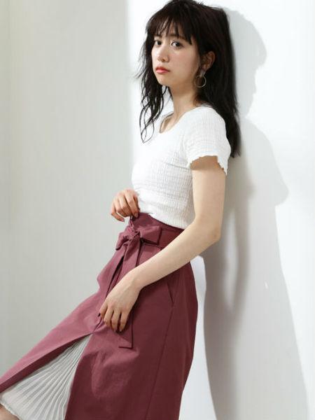 夏の婚活ファッションにおすすめのタイトスカートでコーディネート♡