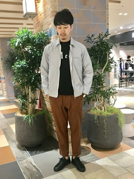 ABAHOUSEのタスランオックスワイドテーパードファティーグパンツを使ったコーディネートを紹介します。|Rakuten Fashion(楽天ファッション/旧楽天ブランドアベニュー)34399