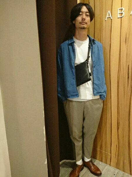 ABAHOUSEの【展開店舗限定】デニム ブルゾンを使ったコーディネートを紹介します。|Rakuten Fashion(楽天ファッション/旧楽天ブランドアベニュー)39352