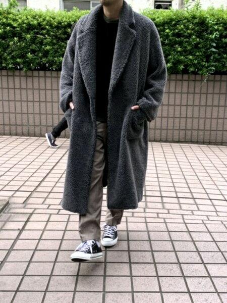 ABAHOUSEのツイルスリムテーパードパンツを使ったコーディネートを紹介します。|Rakuten Fashion(楽天ファッション/旧楽天ブランドアベニュー)42153