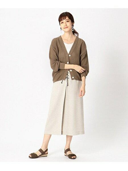 COMME CA ISMのレースアップスカートを使ったコーディネートを紹介します。 Rakuten Fashion(楽天ファッション/旧楽天ブランドアベニュー)35613