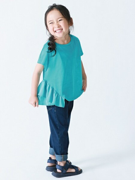 COMME CA ISMのフリルTシャツを使ったコーディネートを紹介します。|Rakuten Fashion(楽天ファッション/旧楽天ブランドアベニュー)35787